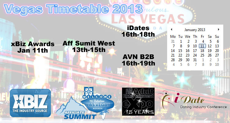 vegas shows and conferences january 2013