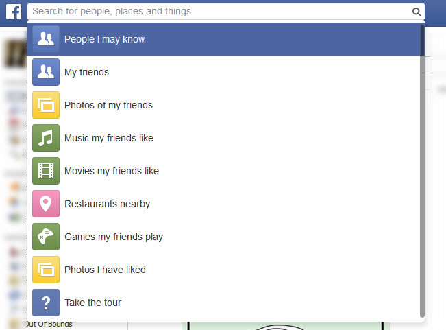 facebook social graph options