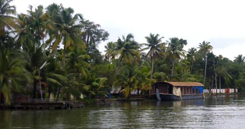 kerala backwaters at Allepey