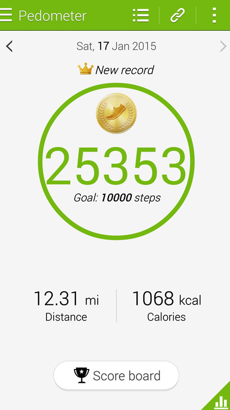 lot of walking at affiliate summits
